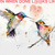 Humming Birds Watercolor Cross Stitch Pattern***LOOK***X***INSTANT DOWNLOAD***