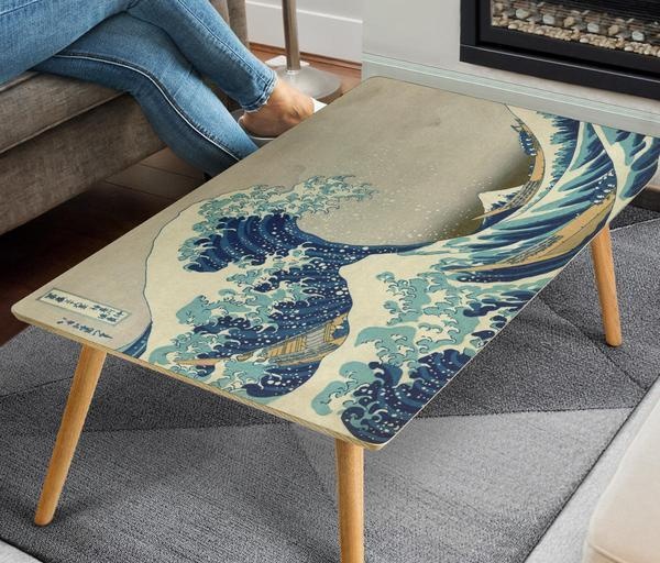 Great Wave Coffee Table - Rectangle