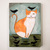 Ginger Kitty and Crows Original Cat Folk Art Painting