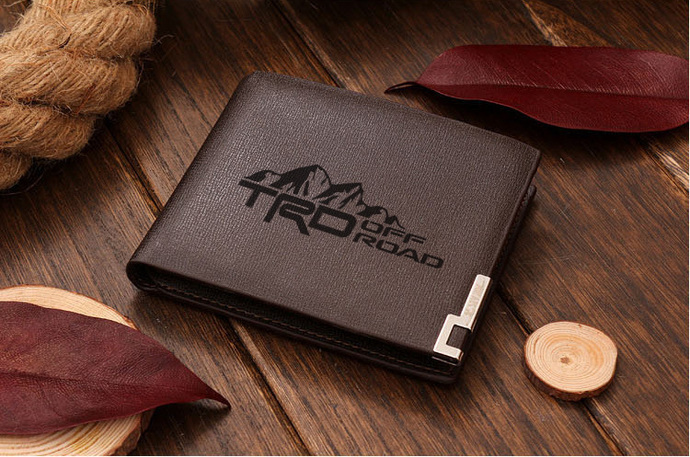 TRD off road Mountain Leather Wallet