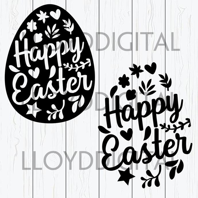 Easter Egg Svg Floral Easter Egg Easter By Lloyd Shop On Zibbet