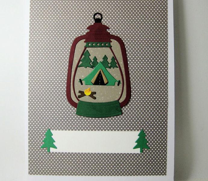 Smaller Kerosene Lantern Die Set