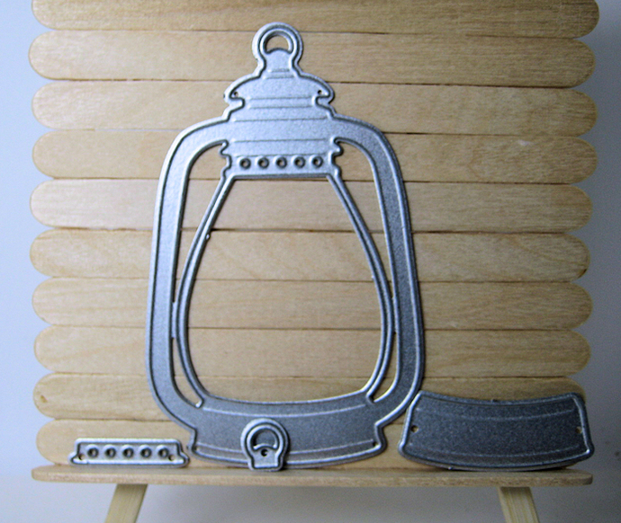 Smaller Kerosene Lantern Die Set, Paper Cutting Die for Die Cutting Machine