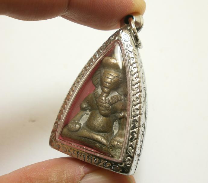 Lord Ganesh God of Success & Wisdom blessed in 1980s Ganesha Ganapati elephant