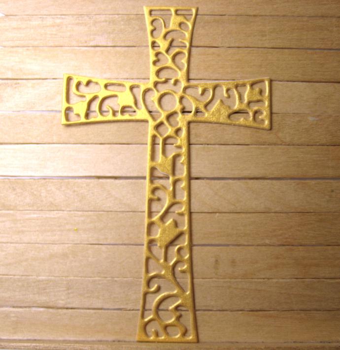 Cross Metal Cutting Die Style #5