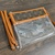 Customized altered clear LV bag - LV brown clear bag - Louis Vuitton clear bag -