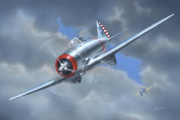 Seversky P-35 - Original Painting