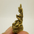 Green Tara mini statue figurine meditation deity Tibet Buddha mother Wisdom