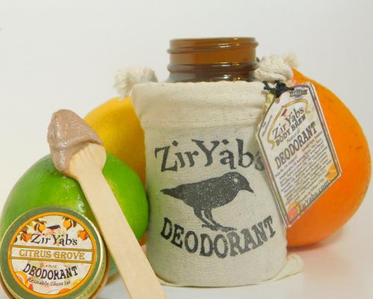 Natural Deodorant | Plastic Free in glass Jar | Lasts 24 hours | Aluminum Free