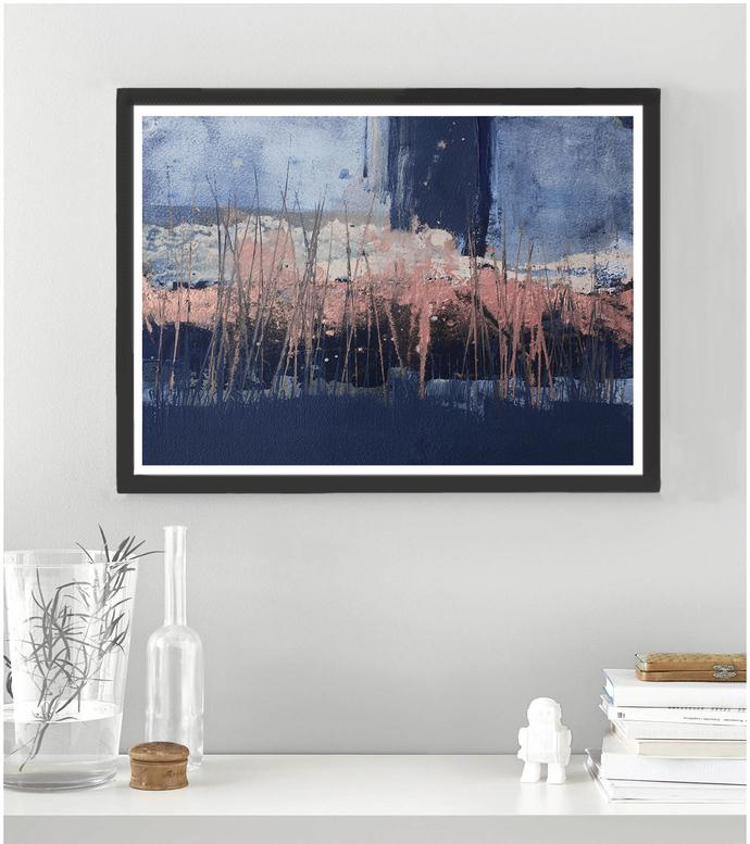 Horizontal abstract, Printable Art, Art Poster, modern abstract, Industrial