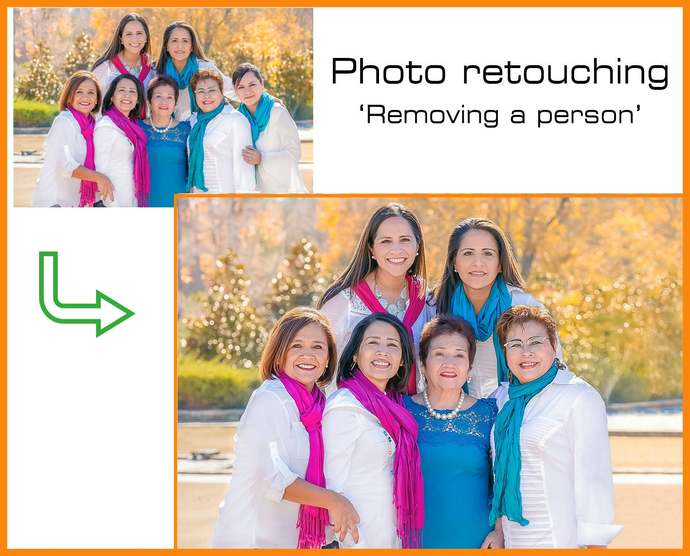 Photo retouching / Editing [Photoshop + Removing a person] Photography, Photo