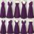 infinite bridesmaid dresses long purple cheap satin convertible wedding party