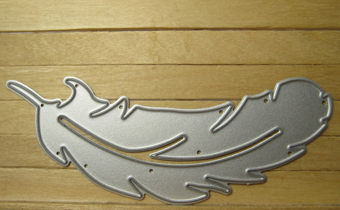Feather Metal Cutting Die, Curved Style