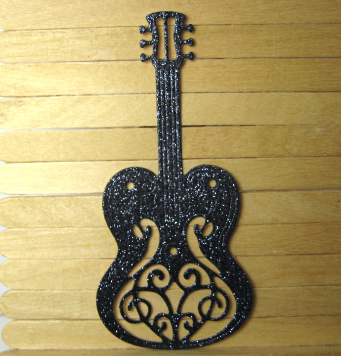 Guitar Metal Cutting Die Style #3