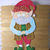 Christmas Elf Metal Cutting Die Style #2 Gnome