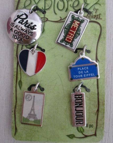 Paris Charm Set