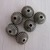 Corrugated Antique Silver Metal Beads