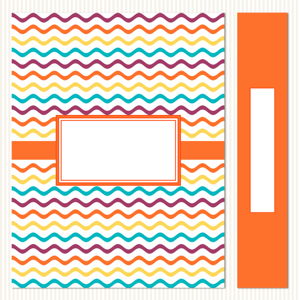 Printable Binder Covers & Spines_Cheery