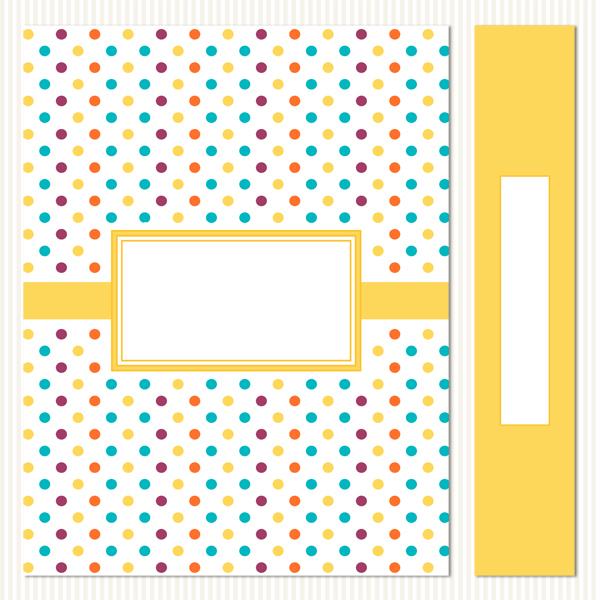 Printable Binder Covers & Spines_Cheery