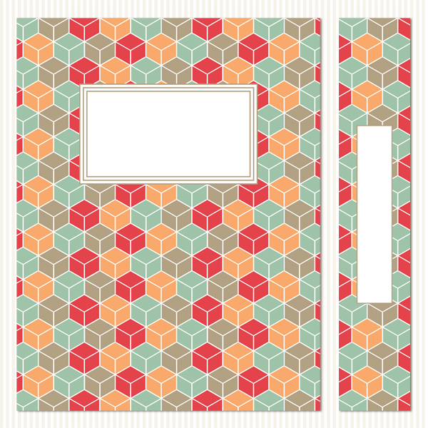 Printable Binder Covers & Spines_Fair & Square Set 1