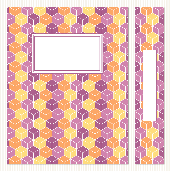 Printable Binder Covers & Spines_Fair & Square Set 2