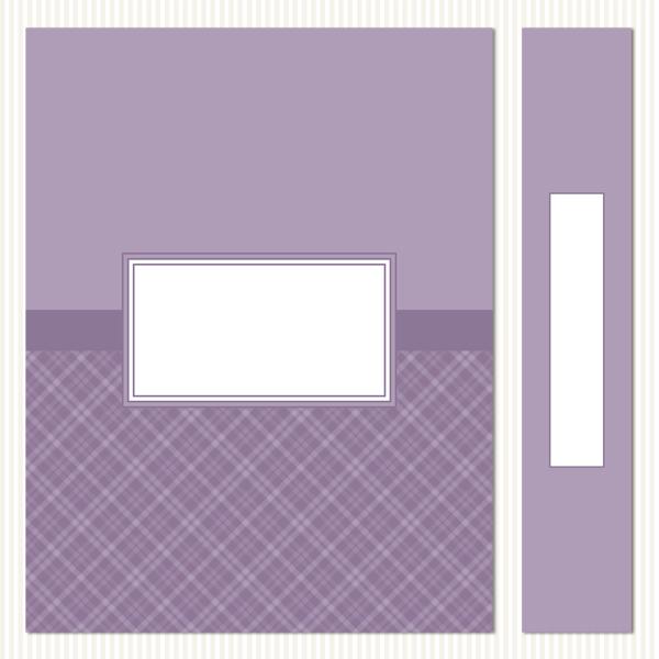 Printable Binder Covers & Spines_Plaid Set 1