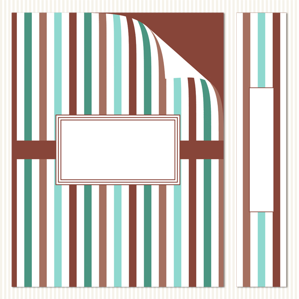 Printable Binder Covers & Spines_Mint Chocolate