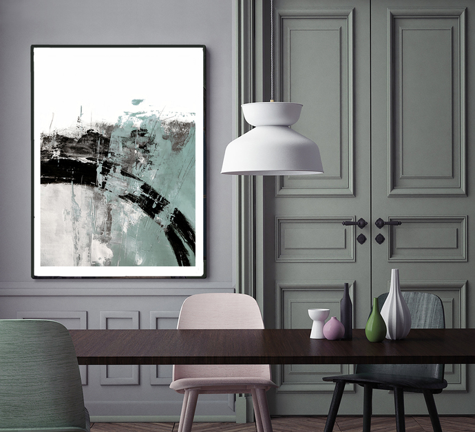 Printable abstract, contemporary art, print from original painting , pastel