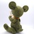 Prototype Hand Sewn Felt Bear- olive green and gold