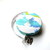 Tape Measure Aqua Blue Bunny Rabbits Small Retractable Measuring Tape