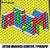 Autism Geometric Letters Awareness Graffiti crochet graphgan blanket pattern;