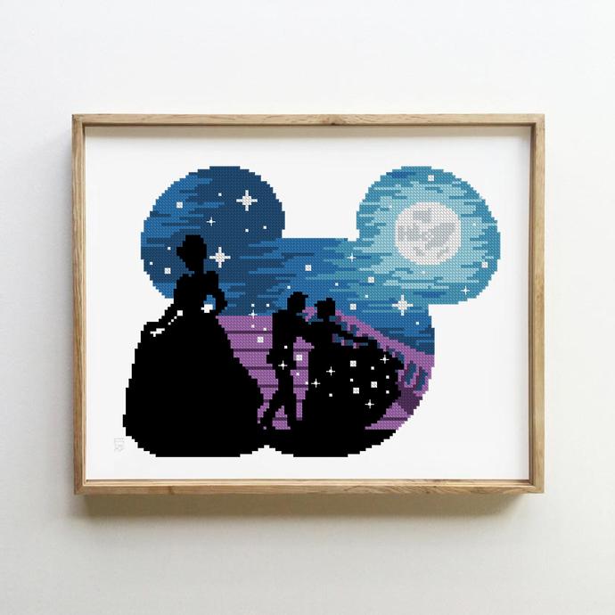 Fairytales counted cross stitch pattern - Cross Stitch Pattern (Digital Format -