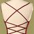 Tie Back Pleated Mermaid Prom Dress 8002359