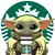 Baby Yoda Starbucks, coffee life, Starbucks. Jedi, Star wars, Coffee is my Jam,