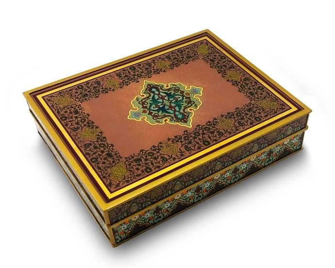 Anniversary Decorative Box, Decorative Wedding Box - Persian Classic Design -