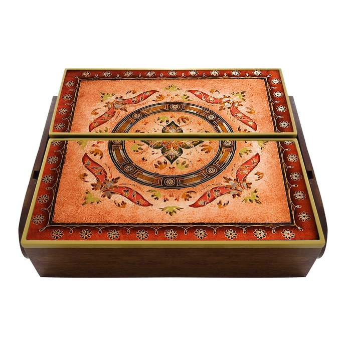Box for Ordering Cutlery in The Kitchen, Cutlery Box - Syrian Marquetry