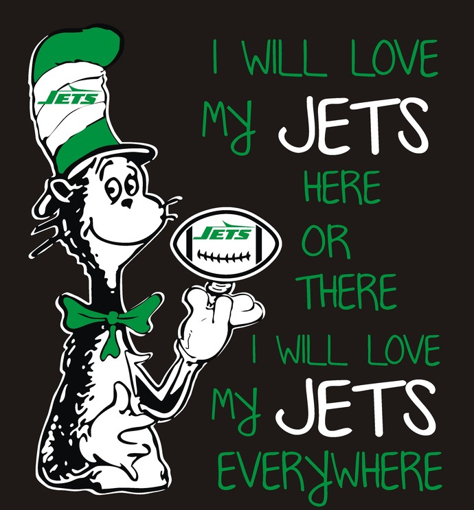 Cat in the Hat, New York Jets, Football, SVG