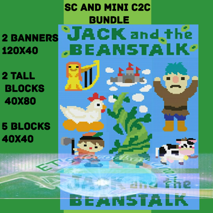 Jack and the Bean Stalk SC & Mini C2C