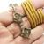 Dorje Vajra ax vajrayana Tibet magic Tibetan pendant 24 inches rope necklace