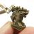 Qilin Kirin brass pendant amulet Chinese dragon like Japanese myth Creature