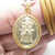 Caishen God of Wealth Good Fortune Chinese pendant Cai Shen 财神 Zhao Gong amulet