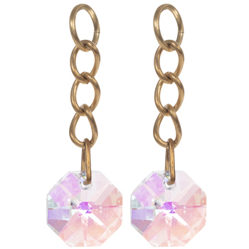 Vintaj Cascade Crystal Drops