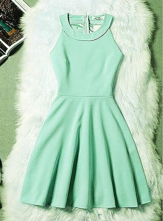 Mint Green Short Prom Dress, Homecoming Dress 2020