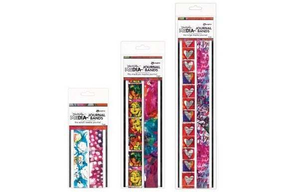 New DINA WAKLEY Printed Journal Bands