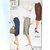 Vogue 9605 Misses Slim Straight Skirt 50s Vintage Sewing Pattern Waist 26 Easy