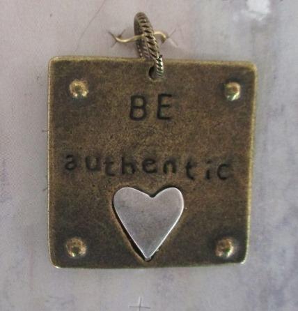 Be Authentic Pendant