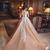 robes lace prom dresses long appliqué 2020 champagne v neck elegant arabic prom