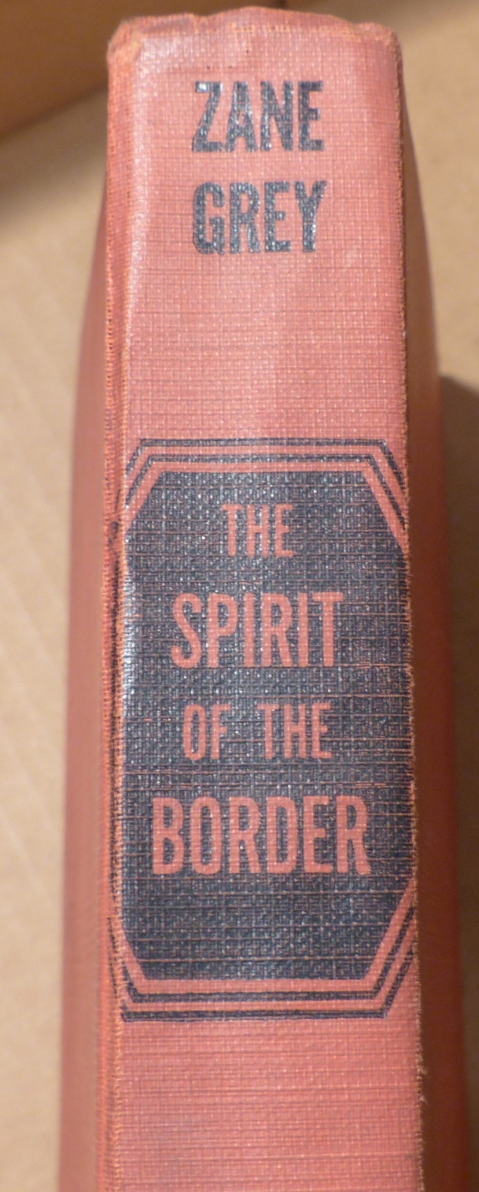 The Spirit of the Border, Zane Grey, Vintage book, Antique book, Collectible