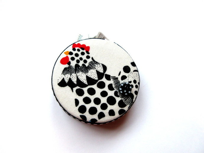 Measuring Tape with Dotted Chickens Retractable Small Tape Measure
