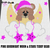 Pink Goodnight Teddy Bear Moon and Stars crochet graphgan blanket pattern;